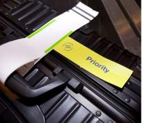 SkyPriority bag tag