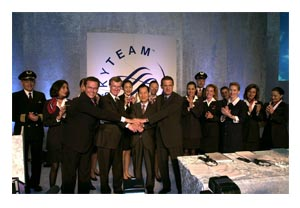 Launch of SkyTeam by founding members