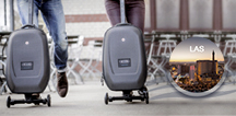 Scooter Suitcase by Micro